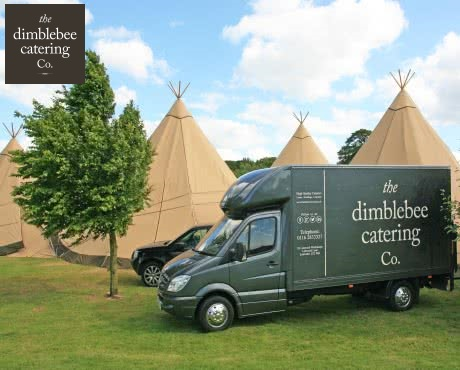 outside caterers for marquee tipi venues home gardens and business