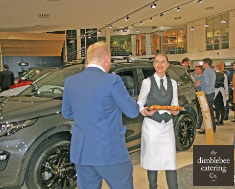 canapes and drinks for product launches leicester midlands london audi hospitality customer experience experts sepcialist hospitality f&b for product launches and pr events uk