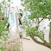 high quality marquee wedding caterers and tipi wedding caterers in Leicestershire